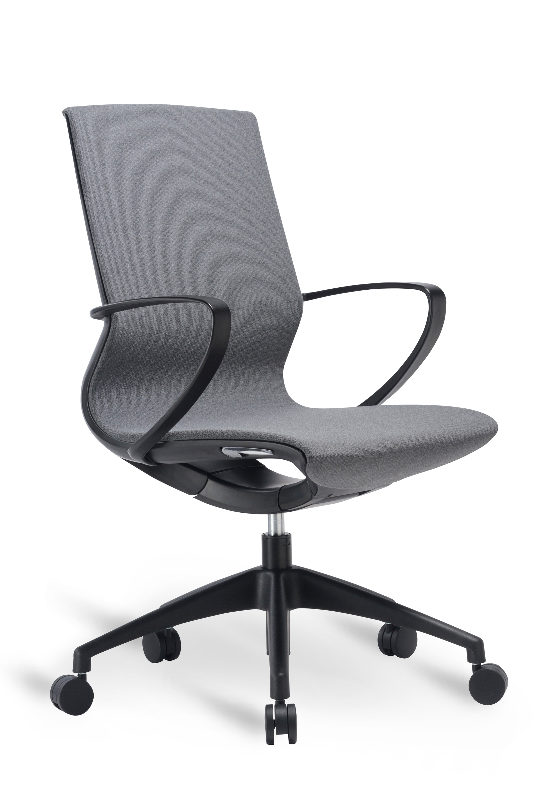 WS - L19 multipurpose chair - Dark grey (Front angle)